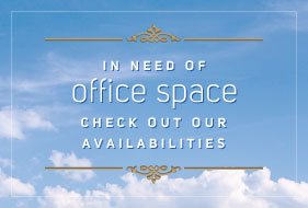 In need of office space - check out our availabilities